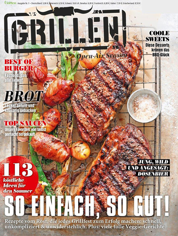 GRILLEN Open-Air Season Cover