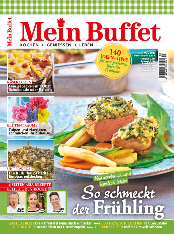 Mein Buffet Cover